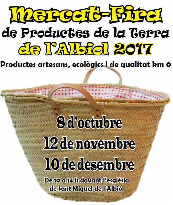 Mercado-Feria de Productos de la Tierra de Albiol 2017