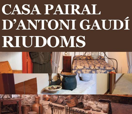 La Casa Solariega de Antoni Gaudí de Riudoms continúa recibiendo visitas