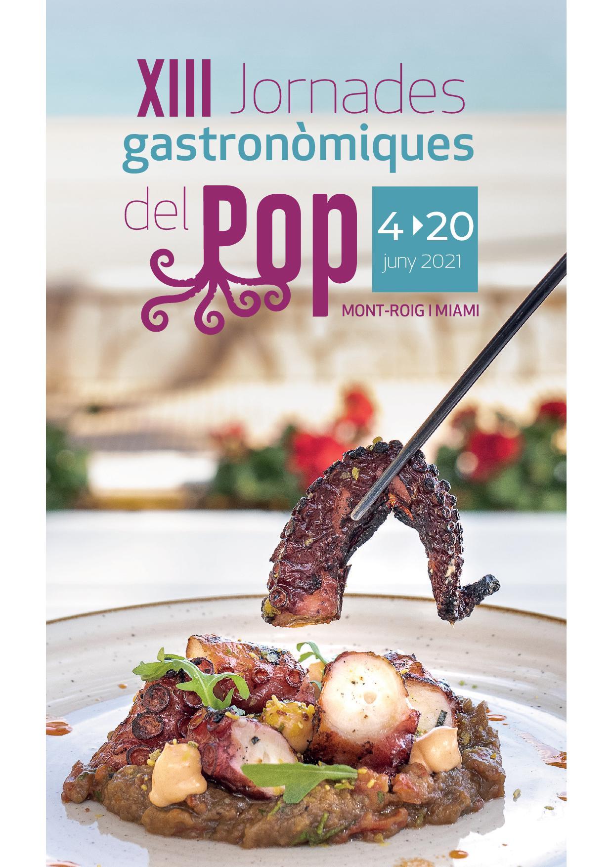 XIII Jornades Gastronòmiques del Pop