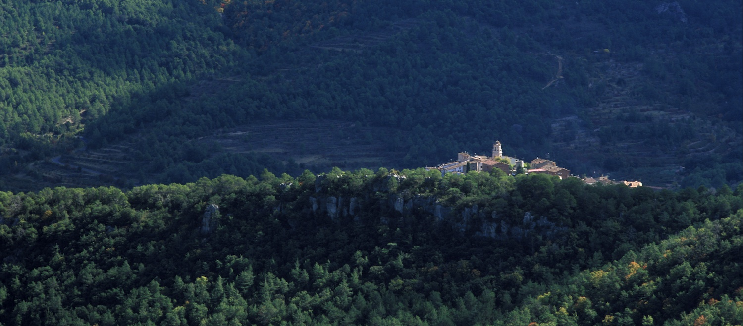 FROM THE RIVER BRUGENT TO THE SUMMIT OF THE PRADES MOUNTAINS